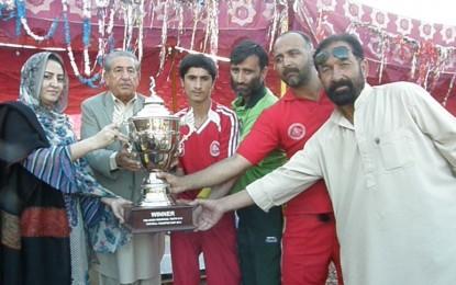 آل پاکستان انڈر ١٤ فٹ بال ٹورنامنٹ گلگلت میں اختتام پذیر، فائنل تقریب بد انتظامی کاشکار