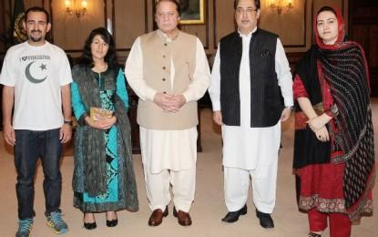 مینڈیٹ کا احترام کرتے ہوے گلگت بلتستان میں موجودہ حکومت اور نظام کو کامیاب بنائیا جائیگا، وزیر اعظم نواز شریف