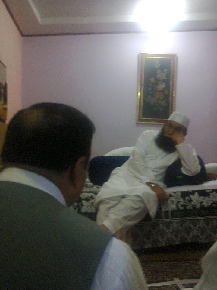 اسلامی تحریک پاکستان گلگت کے صوبائی وزیر جناب دیدار علی کی مولانا طارق جمیل سے ملاقات