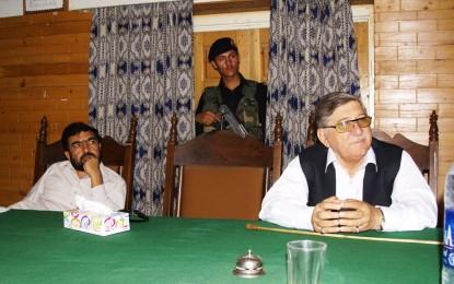 چترال میں پاکستان تحریک انصاف کے کارکنوں کا کنوینشن