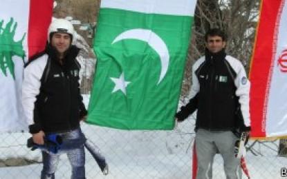 سرمائی اولمپکس میں واحد پاکستانی کھلاڑی