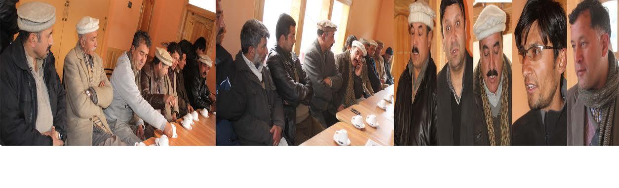 ہنزہ: راجہ حسین خان مقپون کی یاد میں تقریب منعقد،ایصال ثواب کے لیے فاتحہ خوانی