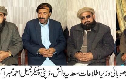 خیبر پختونخواہ اور گلگت بلتستان کے مابین حدود کے تعین میں کسی قسم کی کوتاہی نہیں کی جائیگی: مہدی شاہ