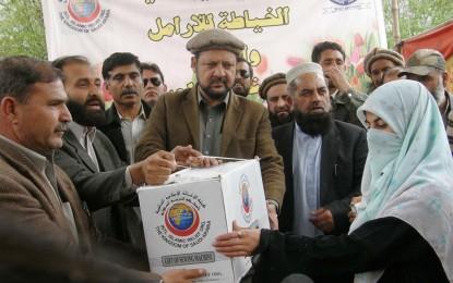 گلگت: اسلامک ریلیف آرگنائیزیشن کے تعاون سے 250 مستحق خواتین میں سلائی مشین تقسیم کیے گئے