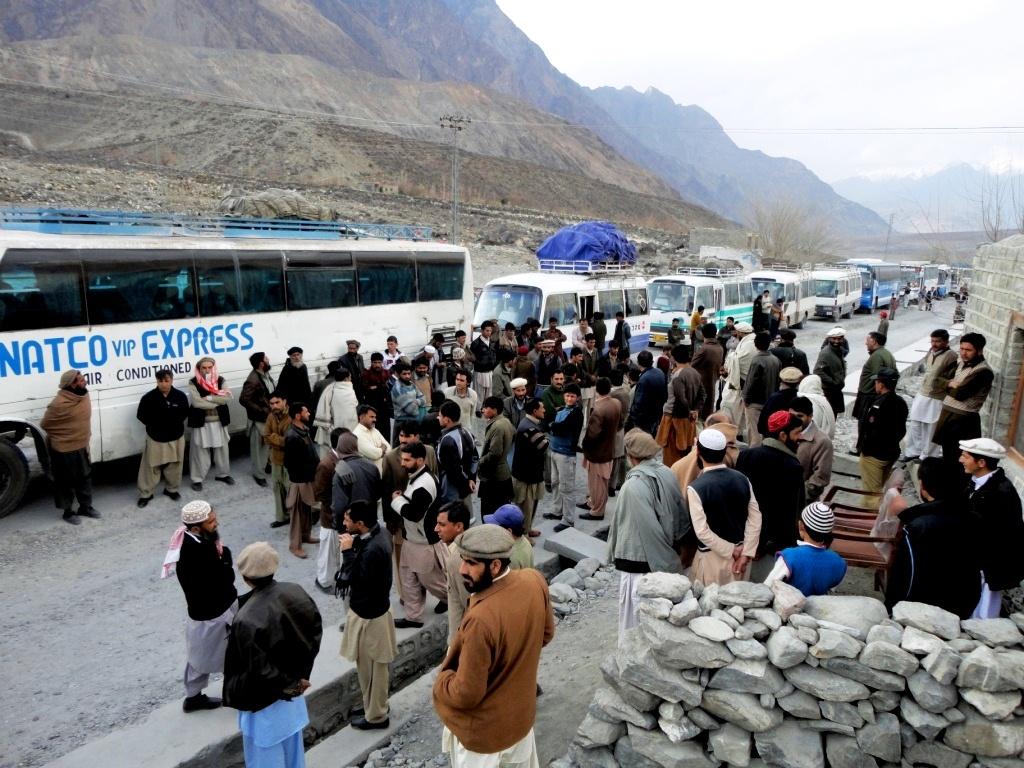 کانوائے سسٹم کے خاتمے تک ٹرانسپورٹرز کا ہڑتال ختم نہیں ہوگا: صدر، کوہستان ٹرانسپورٹرز ایسوسی ایشن