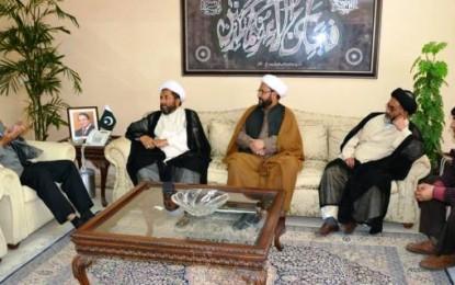 اسلام آباد، شیعہ علماء کونسل کے وفد کی وفاقی وزیر برجیس طاہر سے خصوصی ملاقات
