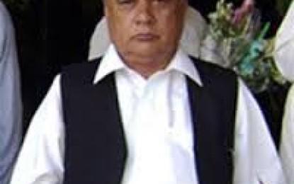 ابراہیم ثنائی کے پاس ہمارے خلاف ثبوت ہیں تو میڈیا میں شور مچانے کی بجائے نیب کے حوالے کر دے، سابق سینئر وزیر