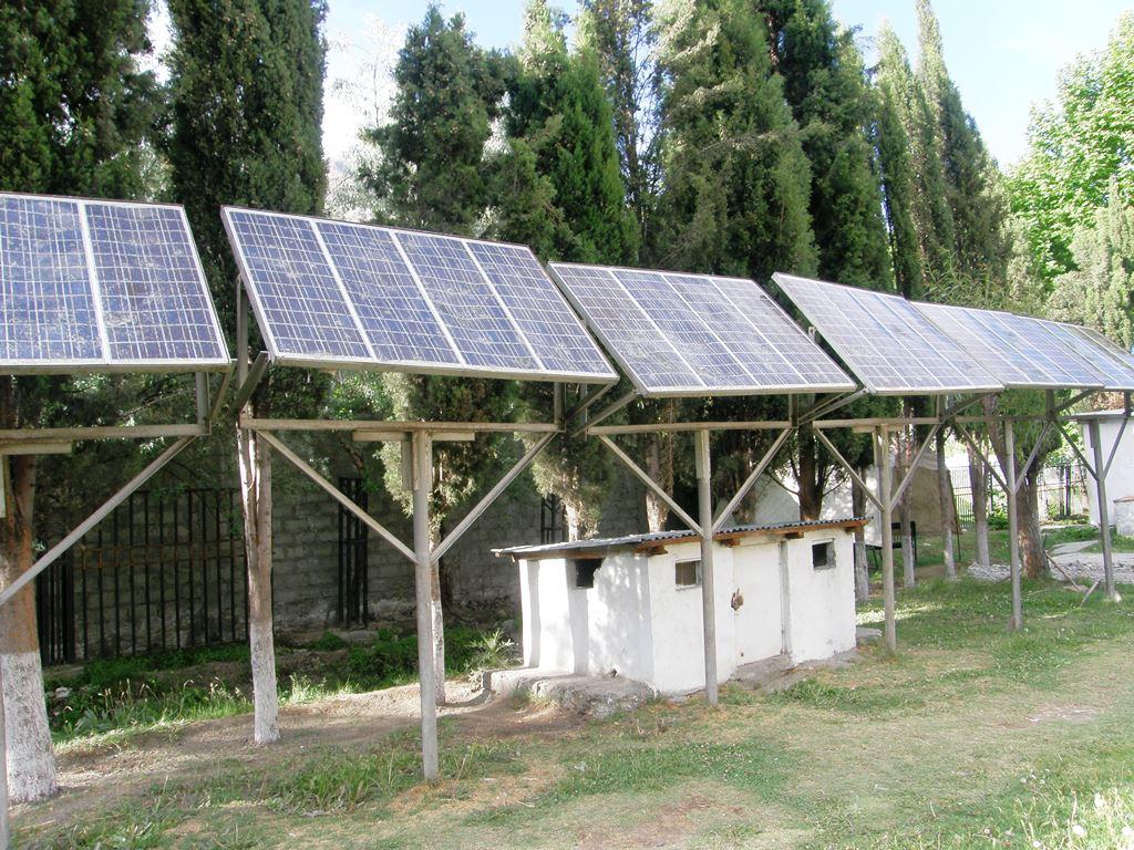 سٹی پارک گلگت میں کروڑوں کی لاگت سے نصب شمسی توانائی کا نظام ناکارہ
