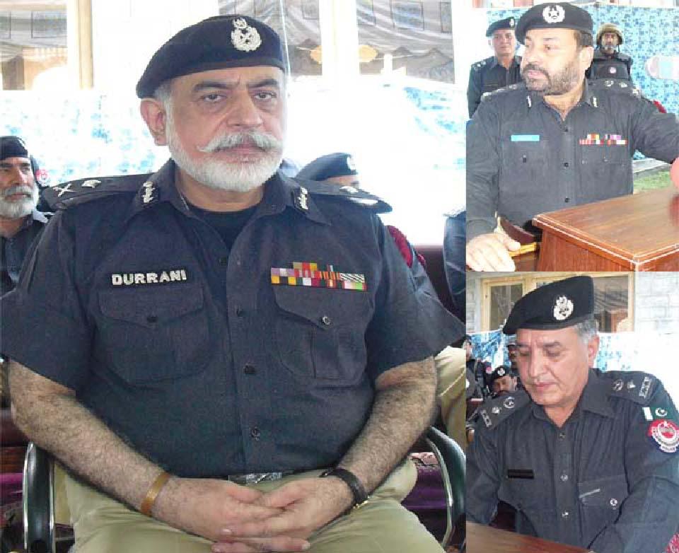 چترال پولیس کی بہادری کوخراج تحسین پیش کرتاہوں ،آئی جی پی ناصردُرانی