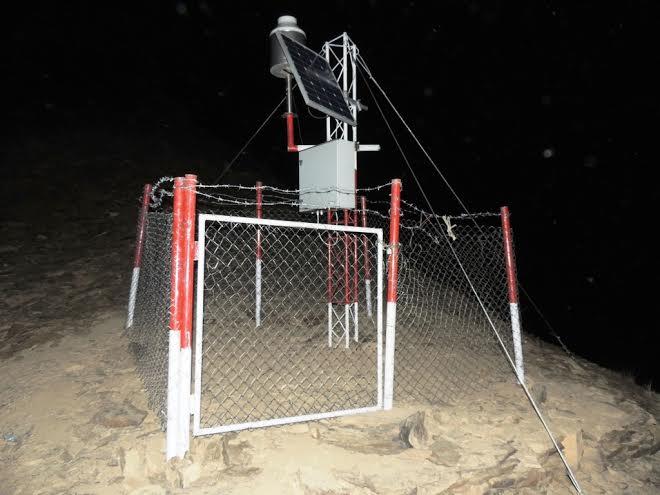 چترال میںخودکارموسمیاتی اسٹیشن کی تنصیب ،گلاف پراجیکٹ کااہم اقدام