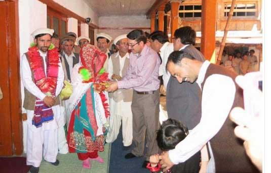 مدغلشٹ چترال میں چوبیس جوڑوں کی اجتماعی شادی