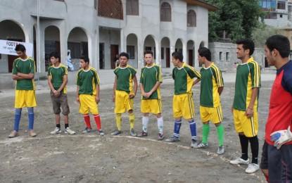 ہنزہ پریمیر لیگ فٹ بال ٹورنامنٹ کا آغاز