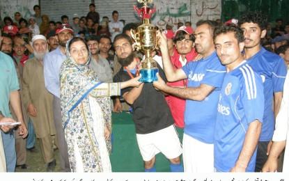 بارگو (گلگت) میں جشن آزادی فٹبال ٹورنامنٹ کا انعقاد