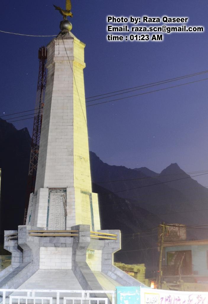 سکردو کے یادگار چوک میں آئے روز دھرنوں سے دکاندار عاجز آگئے