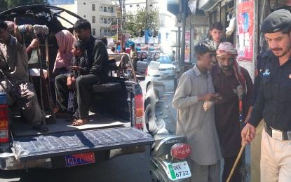گلگت انتظامیہ بھکاریوں کے خلاف متحرک، چالیس سے زائد گرفتار