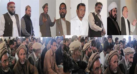 عوامی ایکشن کمیٹی کے وفد کا دورۂ نلتر، مکینوں کے ساتھ یکجہتی کا اظہار