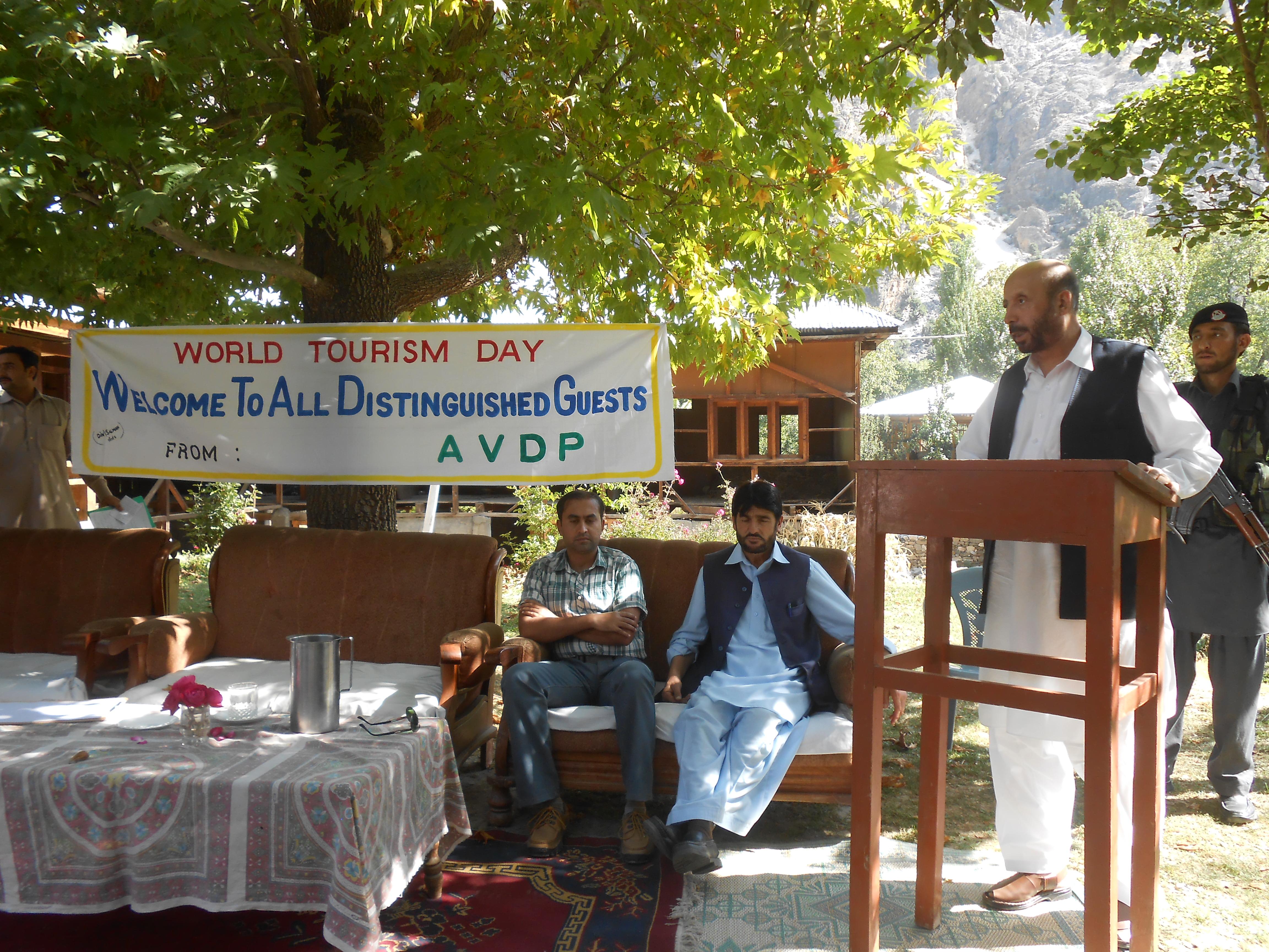 وادی کیلاش (بمبوریت) میں یوم سیاحت کے حوالے سے تقریب کا انعقاد
