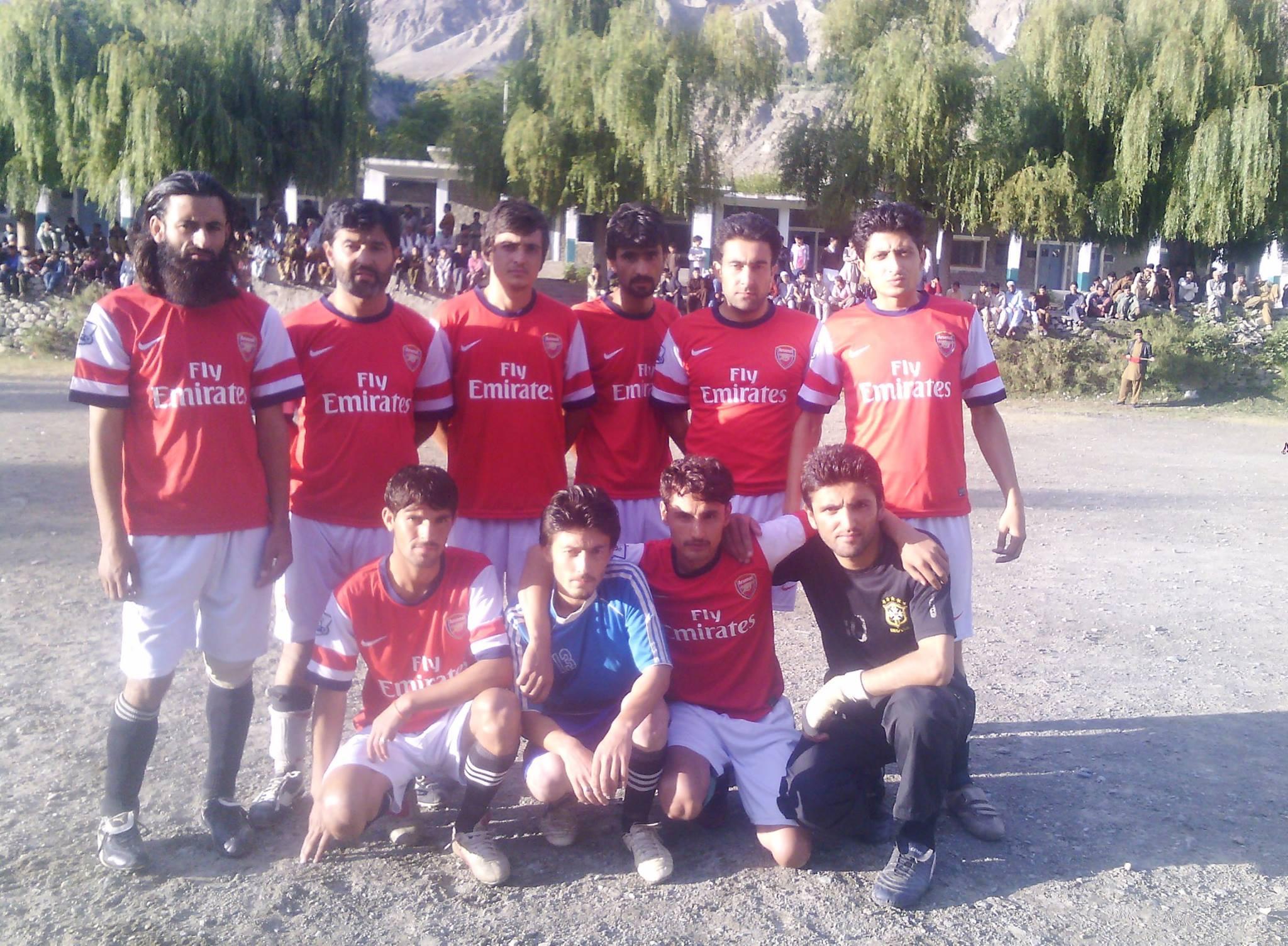 گاہکوچ میں آل غذر ڈپٹی کمشنر کپ فٹ بال کپ ٹورنامنٹ کا آغاز