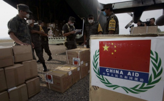 متاثرین شمالی وزیرستان کے لیے ٤٤ کنٹینرز پر مشتمل امدادی سامان کا قافلہ سوست پہنچ گیا