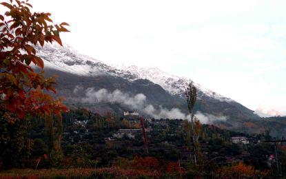 ضلع ہنزہ نگر کے بدلتے موسم اور خوبصورت رنگ