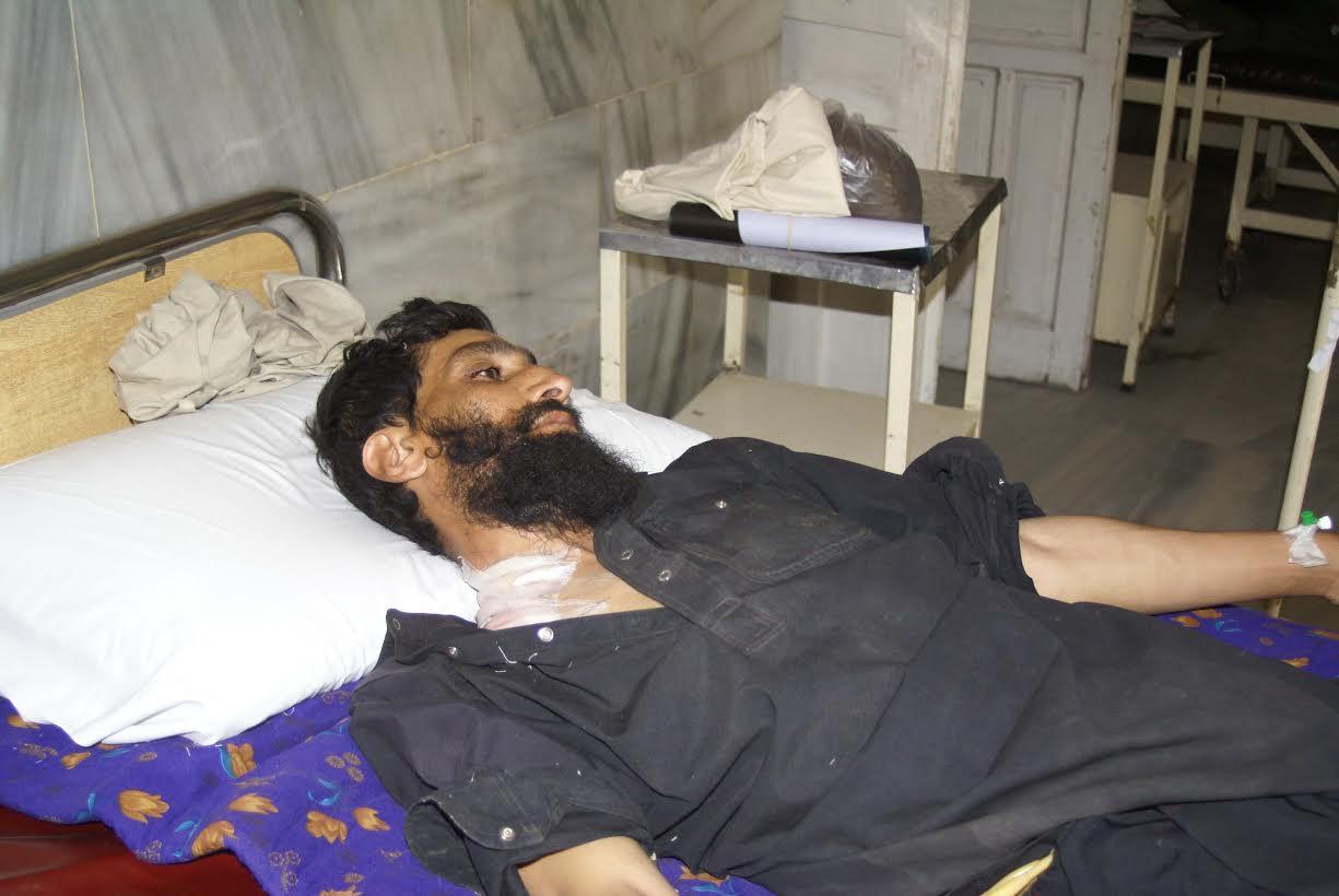 چترال, پاک افغان سرحدی علاقے ارندو میں پاکستانی شہری  گولی لگنے سے شدید زحمی