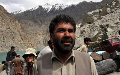 میرزہ حسین پورے گلگت بلتستان کا لیڈر تھا۔ انجمن فکر وسخن نگر