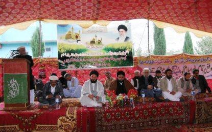 گلگت میں عید غدیر کے موقعے پر تقریب کا انعقاد، تمام مسالک کے افراد شریک ہوے