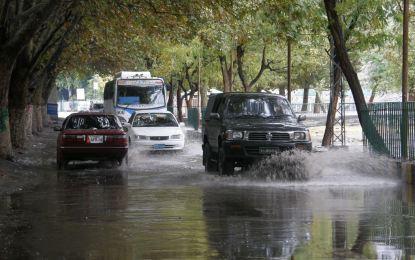 گلگت: بگ سٹی کے دعوے، لیکن سرما کی پہلی بارش کے بعد شہرکی حالت ناگفتہ بہہ