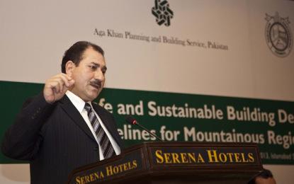 ایم کیو ایم سے تعلق رکھنے والے راجہ اعظم خان نے گلگت بلتستان کابینہ سے مستعفی ہونے کا اعلان کردیا