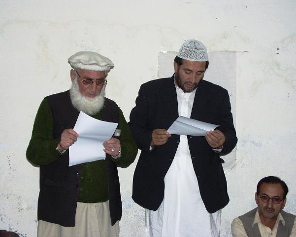 جماعت اسلامی چترال کے نو منتخب امیر نے عہدے کا حلف اُٹھا لیا