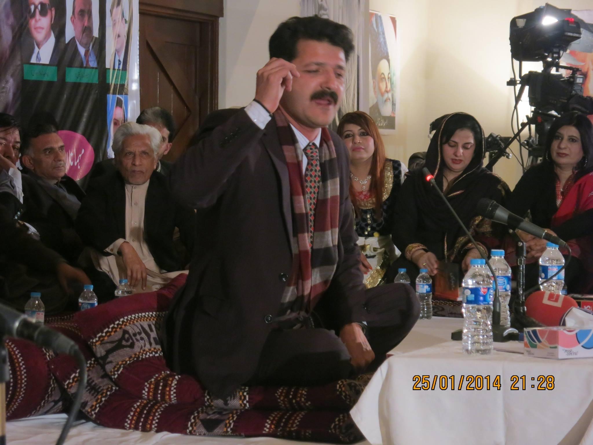 گلگت بلتستان کے نامور نوجوان شاعر شاہ عبدالطیف بھٹائی کانفرنس میں مقالہ پیش کریں گے