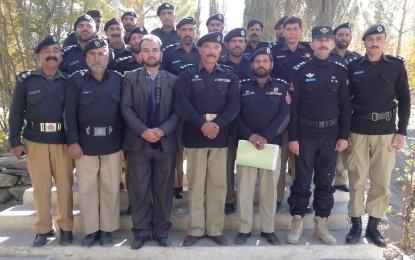 کمیونٹی پولیسنگ کے حوالے سے تربیتی پروگرام کا انعقاد