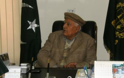 گلگت بلتستان میں کرپشن وردی والوں کے دور میں شروع ہوئی، سپیکر وزیر بیگ