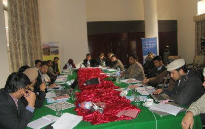 گلیشیائی جھیلوں کے حوالے سے گلگت کے صحافیوں کے لیے تربیتی ورکشاپ