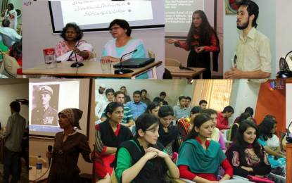 کراچی، NSF گلگت بلتستان کے زیر اہتمام خواتین پر تشدد کے خلاف عالمی دن پر سیمینار