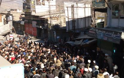 آل پاکستان یوتھ فورم فار پیس چترال،انسانی حقوق اور یوتھ ایمپاؤرمنٹ فورم چترال کے زیر اہتمام چترال میں امن واک اور جلسہ کا انعقاد