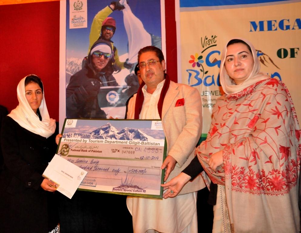 مجھے فخر ہے کہ گلگت بلتستان کی ایک بیٹی نے ماونٹ ایورسٹ سمیت دنیا کے متعدد چوٹیوں پر ہلالی پرچم لہرایا، مہدی شاہ