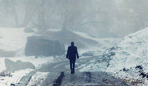 پاکستان کے سرد ترین علاقہ گانچھے میں سردی جاتے جاتے پھر سے لوٹ آیا