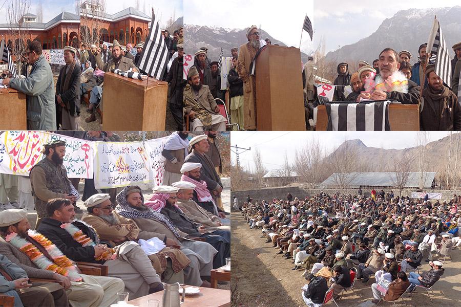 سابق ایم پی اے حاجی غلام محمد نے سینکڑوں ساتھیوں سمیت جمعیت علماء اسلام میں باضابطہ شمولیت اختیار کر لی