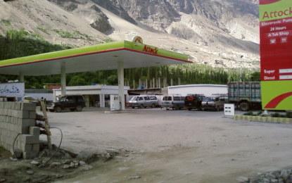 پیٹرولیم مصنوعات کی قیمتوں میں کمی کا فائدہ گلگت بلتستان کے عوام کو نہ پہنچ سکا