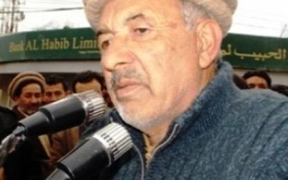 حاجی اکبر تابان کو گلگت بلتستان کا گورنر بنایا جائے:  حاجی فضل علی شگری