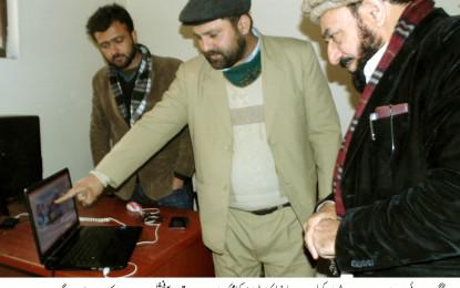 نگران صوبائی وزیرعنایت اللہ شمالی نے محکمہ اطلاعات کا دورہ کیا، صحافت کو جدید اصولوں پر گامزن کرنے کا عزم