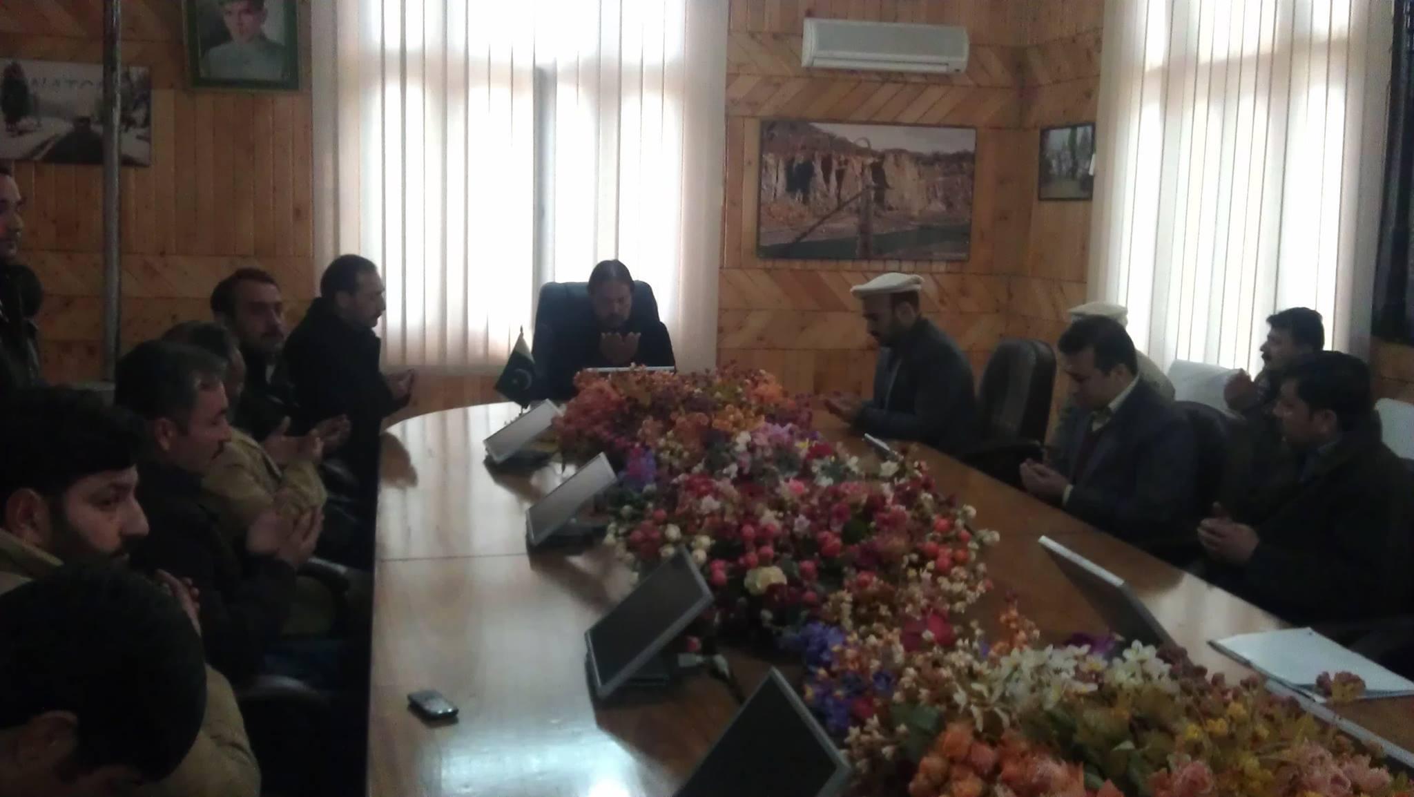 سانحہ پشاور اور شکارپور کے متاثرین کے لئے نیٹکو کے مرکزی دفتر میں دعائیہ تقریب منعقد کی گئی