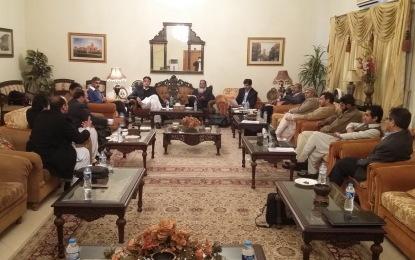 اِسلام آباد، NGOs کے وفدکیPTI کے مرکزی رہنما ء اسد عمر سے ملاقات