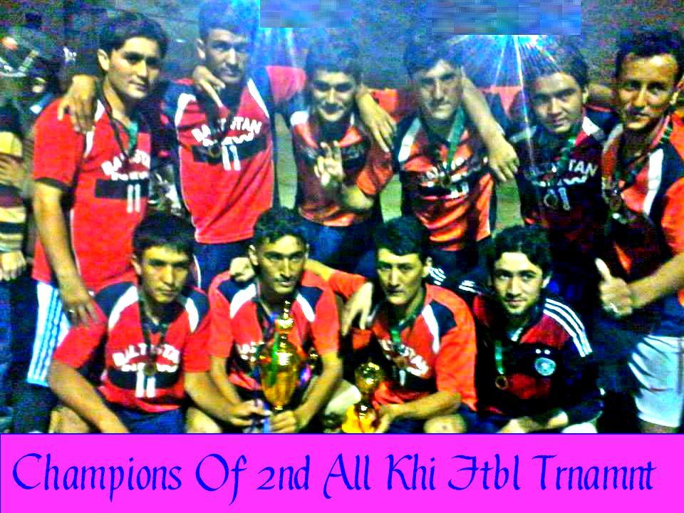 دوسرا آل کراچی بلتی فٹبال ٹورنامنٹ کا ٹائٹل نیو بلتستان یونائیٹڈ نے اپنے نام کیا