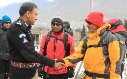 گلگت بلتستان کی تاریخ میں پہلی بار بلندوبالا مقامات (ہائی ایلٹی چیوڈ) کے لیے مخصوص پولیس یونٹ قائم کیا گیا ہے