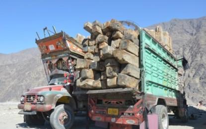 مشکن جنگل کا کٹاؤ اور ڈی ایف او کا طرز عمل