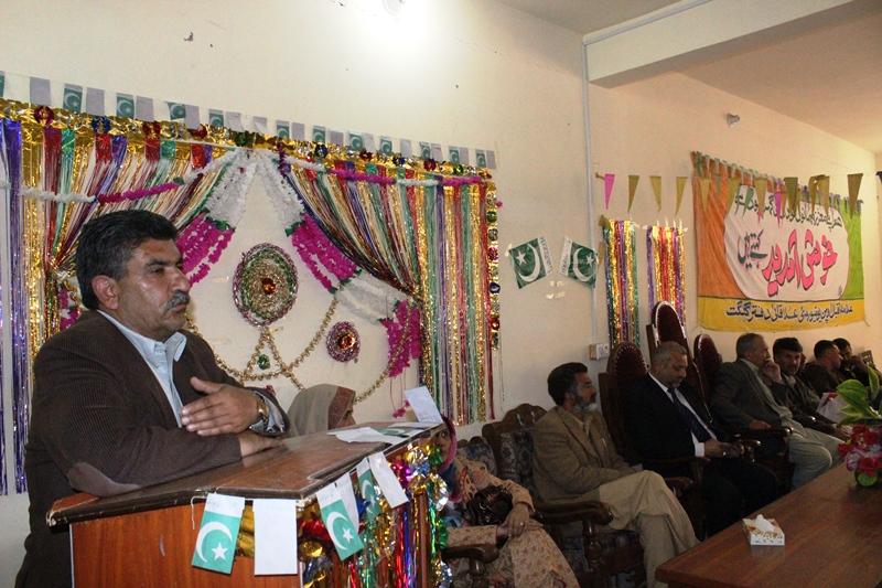 علامہ اقبال اوپن یونیورسٹی کے زیر اہتمام تقریری مقابلے کا انعقاد