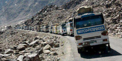 گلگت بلتستان و کوہستان ٹرانسپورٹ ایسوسی ایشن نے آج سے پہیہ جام ہڑتال کا اعلان کر دیا