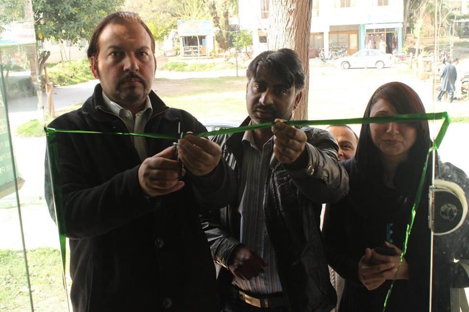اسلام آباد کے سیکٹر جی نائن مرکز (کراچی کمپنی) میں نیٹکو بکنگ آفس کا افتتاح